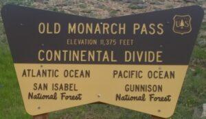 Old Monarch Pass Summit