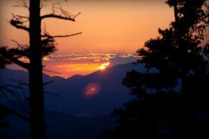 Sangre de Cristo Mountains at Sunset