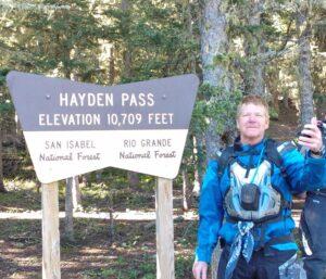 Hayden Pass Larry Heschke