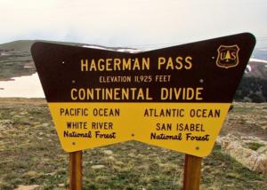 Hagerman Pass Summit