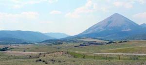 Mt Mestas on La Veta Pass