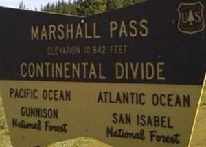 Marshall Pass Signage