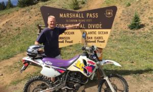 KTM LC4 at Marshall Pass