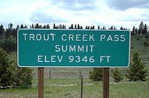 Trout Creek Pass Summit