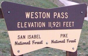 Weston Pass