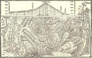 Marshall Pass Railroad Map
