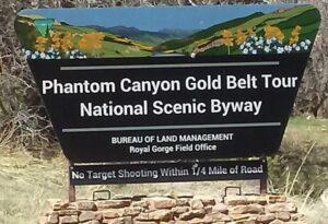 Phantom Canyon Scenic Byway