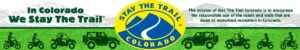 In Colorado we stay the Trail