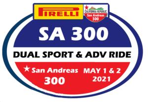 San Andreas 300 Logo